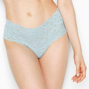 Mid-Rise Thong NWT VS XS The Lacie Frosty Blue